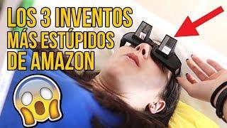 Los 3 inventos MÁS ESTÚPIDOS de AMAZON que puedes REGALAR