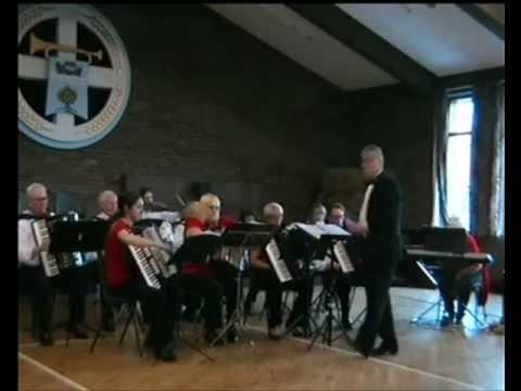East Antrim Seniors Accordion Orchestra - Sweet Caroline