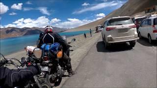 Leh Trip | Part 3 | Leh to Pangong Tso Lake | Changla Pass | First look to Lukung uncut|UPDATE[19K]