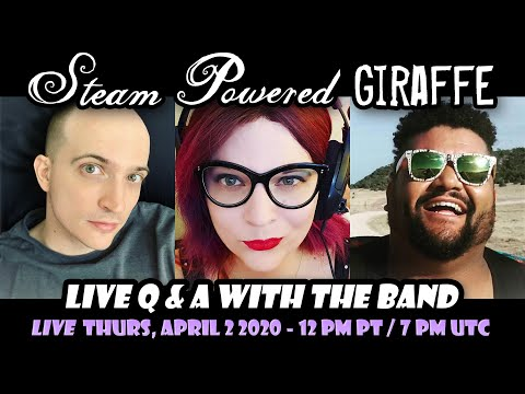 Steam Powered Giraffe – Live Q and A – April 2, 2020 |  Mp3 Download