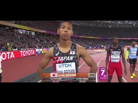 Ramil Guliyev   200 metre finali   Dünya şampiyonu