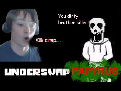 UNDERSWAP PAPYRUS OVERFLOW! | Let's Play Undertale AU Fangames