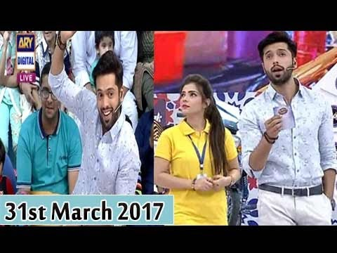 Jeeto Pakistan - 31st March 2017 - ARY Digital Show