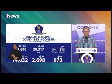 Update Corona 10 Mei 2020: Positif 14.032, Sembuh 2.698, Meninggal 973 - iNews Sore 10/05
