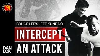 How To Intercept An Attack In JKD - Bruce Lee's Jeet Kune Do