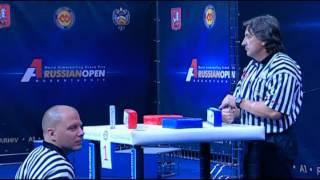 A1 Russian Open 2012 (Final, левая рука)