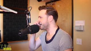 Olly Murs Stops By LIVE 1055 And Talks To Kasey Kelly