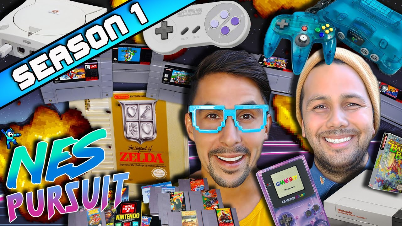 Download TheNESPursuit Season 1- RETRO VIDEO GAME HUNTINGS Finest Years