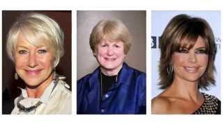 Fryzury dla kobiet po 60