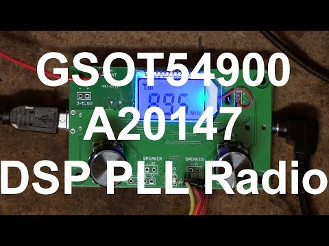 DSP PLL LCD Digital Stereo FM Radio Receiver Module Serial Control