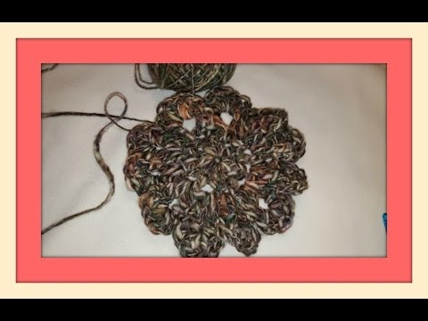 Crochet Japanese Flower Youtube