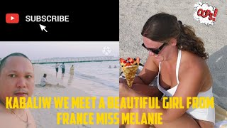 jumeirah beach in dubai kabaliw may na meet na beautiful girl from france.