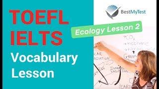 TOEFL Vocabulary - Ecology Lesson 2