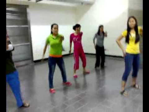 pegatron taiwan christmas dance rehearsal