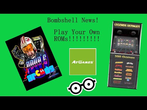 ATGames Legends Ultimate Arcade - Play Your Own ROMs! - UPDATED REVIEW
