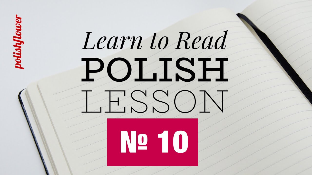 Reading Lesson 10 Learn To Read Polish