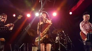 Average Yellow Band ♪Do I Do cover @MOTHER POPCORN in Honmachi 2018...