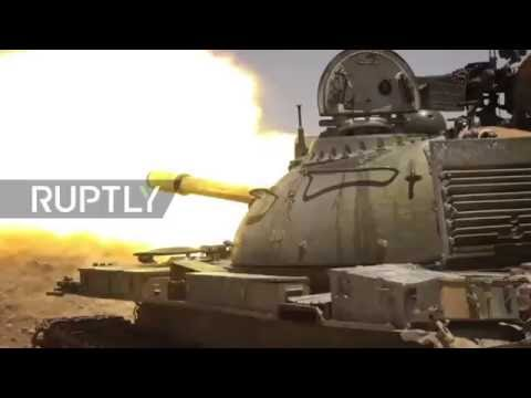 Syria: Govt. forces makes gains against IS in Homs Governorate