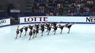 Tokyo Women's College of Physical Education - Synchronized Skating ...