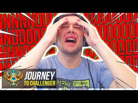 NNNNNNNOOOOOOOOOOOO!!!!!!!!!!!! - Journey To Challenger | League of Legends