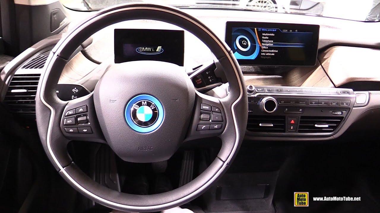 2017 BMW i3 - Interior Walkaround - 2017 Geneva Motor Show - YouTube