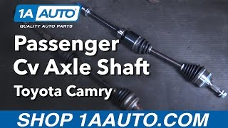 How to Replace CV Axle Passenger Side 92-01 Toyota Camry