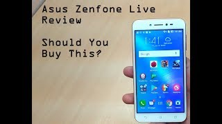 Asus Zenfone Live (ZB501KL) Review After Using For A Month
