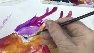 Китайский дракон. Уроки рисования для детей.