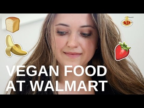 Cheap Vegan Food At Walmart (Canadian)