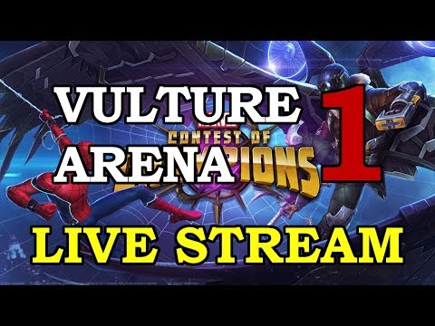Vulture Arena - Part 1 | Marvel Contest of Champions Live Stream