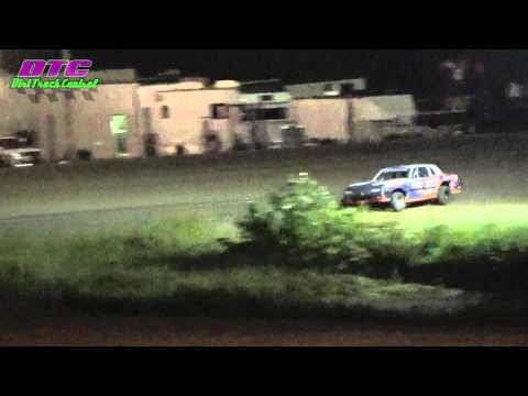 IMCA Stock Car A Feature Thomas County Speedway 9-4-15