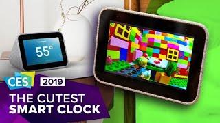CES 2019: Lenovo's adorable Smart Clock