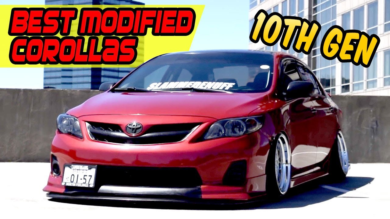Modified Corolla 10Th Gen Compilation Stance