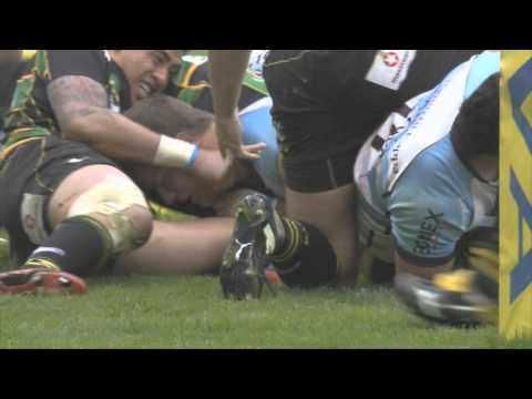 northampton-saints-42-v-14-worcester-warriors-|-official-highlights-|-05/05/12