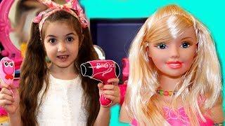 Masha play new make up Table toys