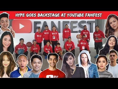 Hype Streetball Backstage at Youtube...