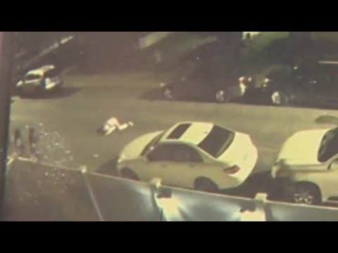 Surveillance Video Captures Shooting Of Two Teenagers In Boston Street