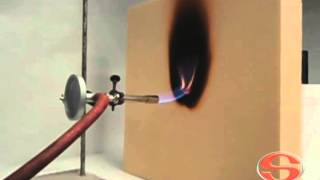 Phenolic Insulation Board 60 mm Fire Test