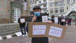 Osnabrück - 25.04.2020 - Kundgebung gegen die Maßnahmen der Regierung