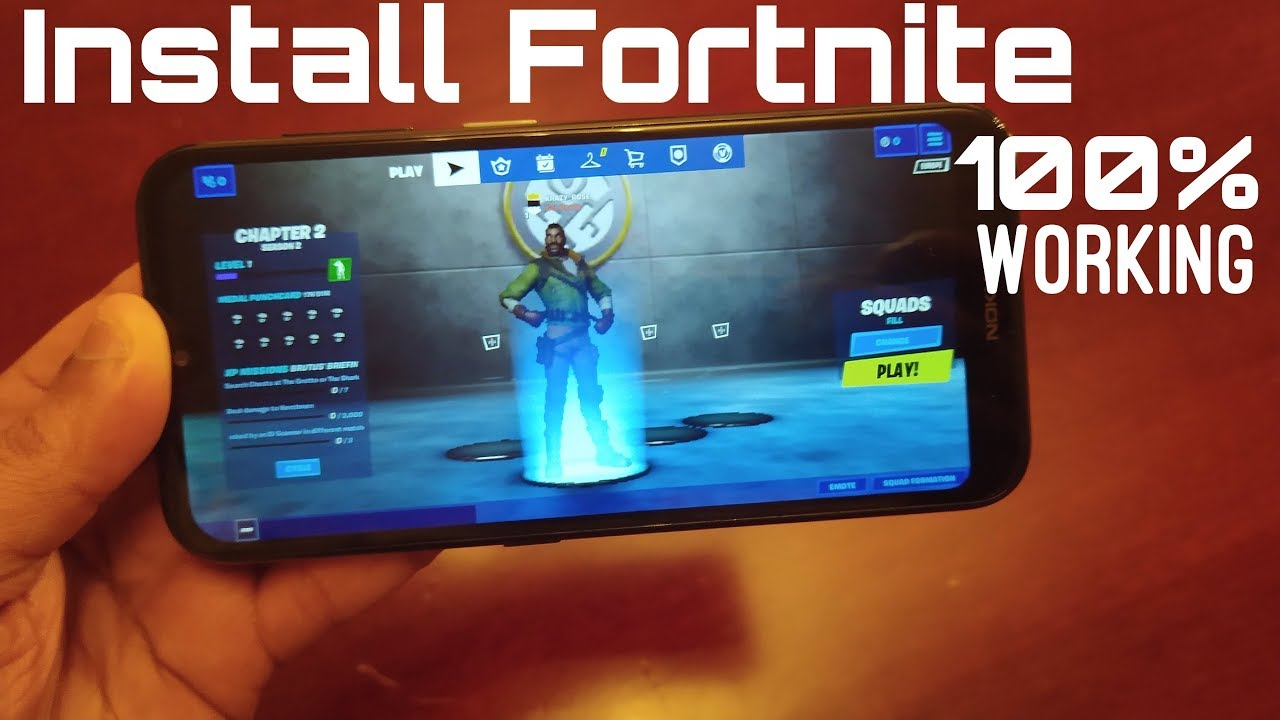Install Fortnite On Unsupported Device's Fix FORTNITE SEASON 2 CHAPTER 2 UPDATE
