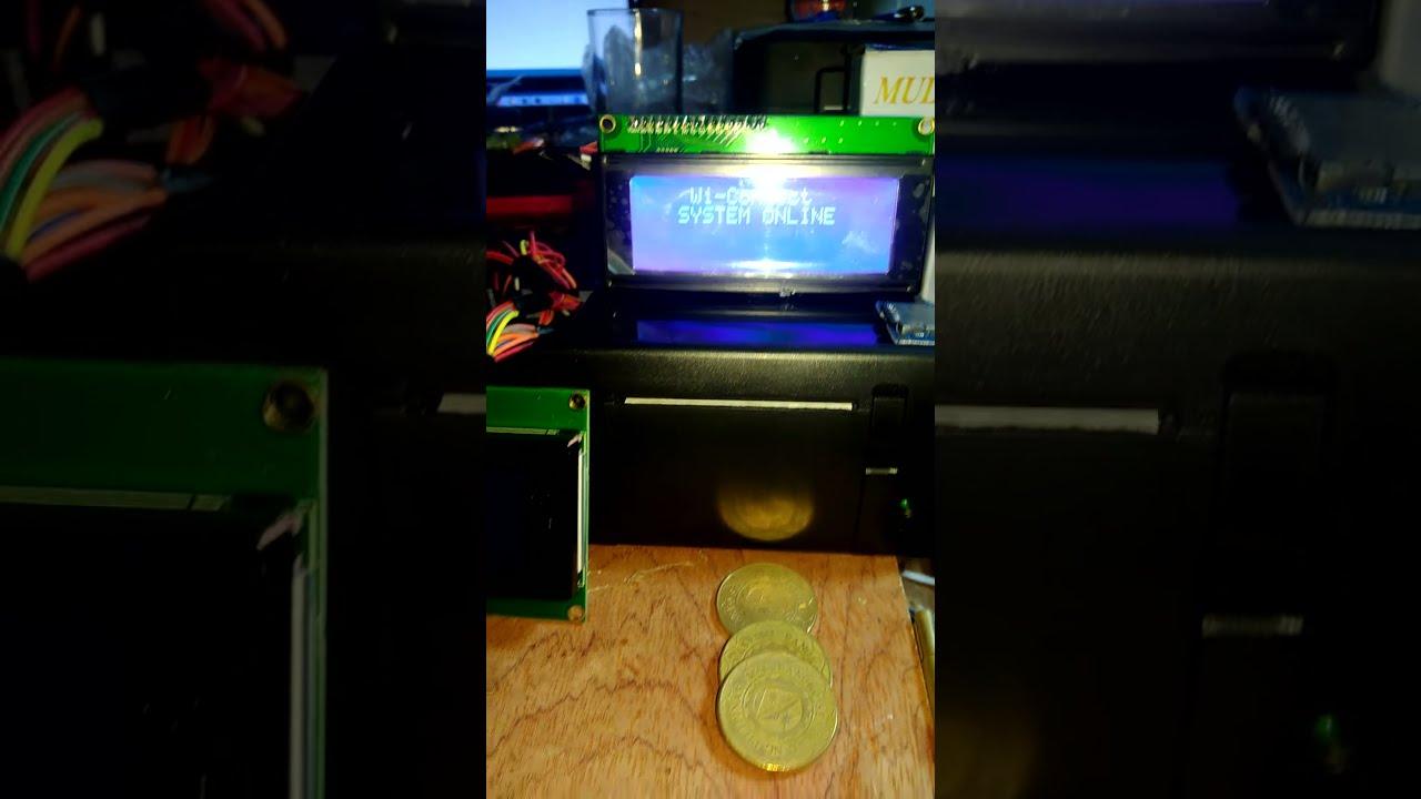Mikrotik Code Dispenser ( Wi-Fi Vendo ) Using Arduino Uno/Mega 2018