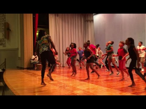 African dance is a new offering for the Milwaukee French Immersion school