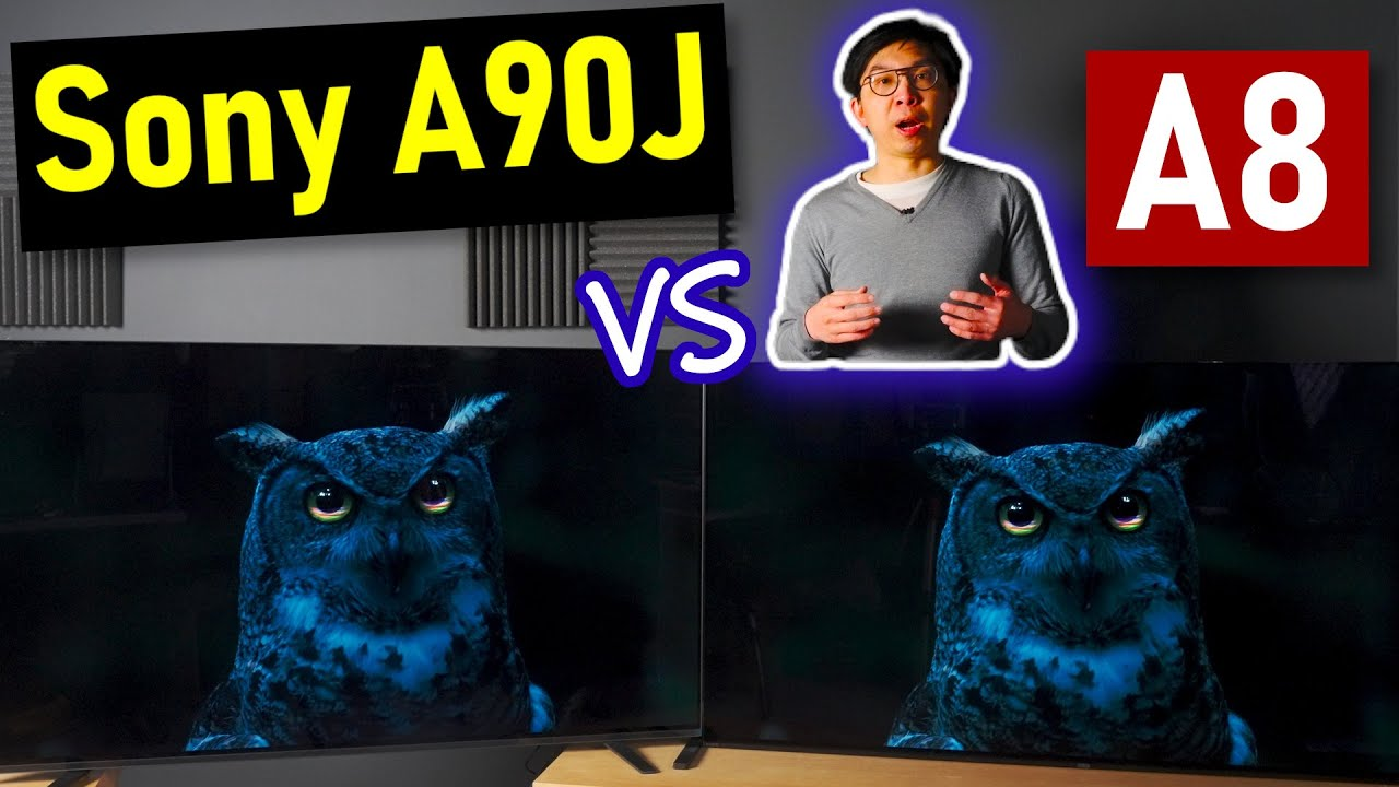 Download Sony A90J Master Series OLED vs A8H/ A9G Comparison