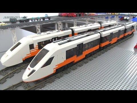 lego city high speed passenger train instructions