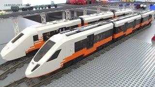 Lego Custom High-speed Train Moc #2!