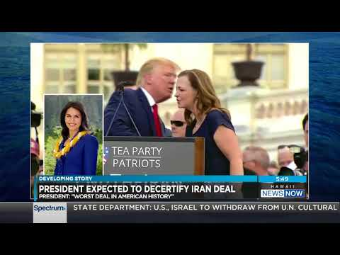 Rep. Tulsi Gabbard on why President Trump must uphold the Iran Nuclear Deal- 10/13/17