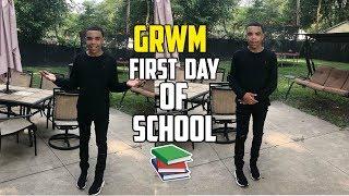 GRWM FIRST DAY OF SCHOOL 2018!!! | Derrick & Derrion