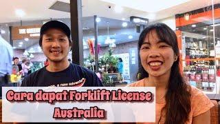 Ngobrol Soal Cara Dapat Forklift License Australia // Pengalaman kerja di Bunnings