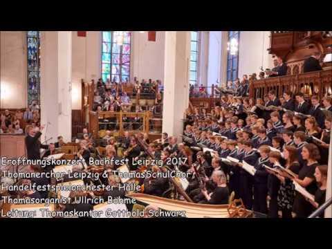 Thomanerchor Leipzig | Eröffnungskonzert Bachfest Leipzig 2017 (MDR Kultur 09.06.2017)