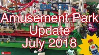 LEGO CITY Amusement Park Update July 2018